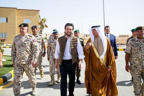 Jordan Crown Prince opens Sheikh Mohamed bin Zayed Training City