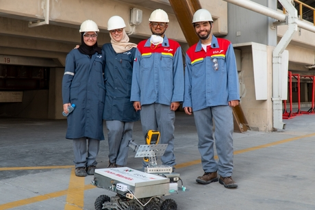 EGA smelters to use industrial robot designed by UAE students
