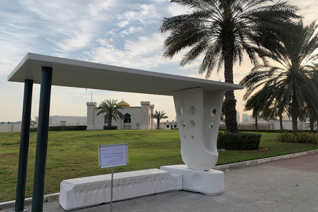 ACCIONA completes Middle East's first 3D concrete printed bus stop
