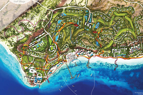 HKS Architects to work on AMAALA Triple Bay, Coastal Development