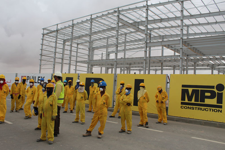 COVID-19: Oman's MPI Construction to protect workers