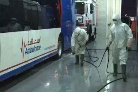 Al Naboodah Group supports disinfection in Al Ain, Dubai