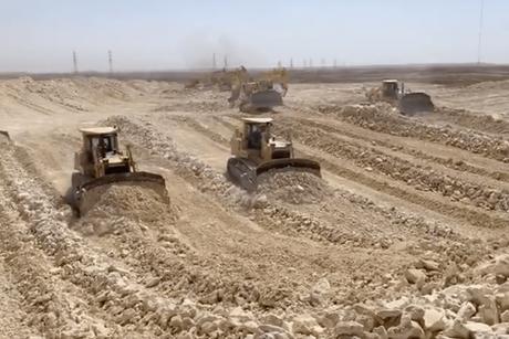 VIDEO: Qiddiya takes precautions; construction continues on site