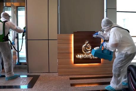 Nakheel begins disinfection across 647 residential buildings