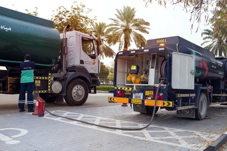 ENOC Link aids Dubai Municipality vehicles in disinfection drive