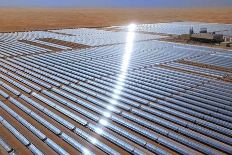 Abu Dhabi's Shams solar plant shapes UAE clean energy transition