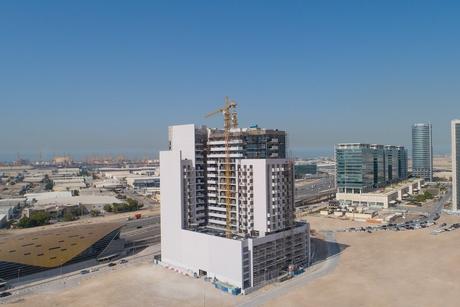 Azizi marks construction milestone at 479-unit Aura with 85% completion