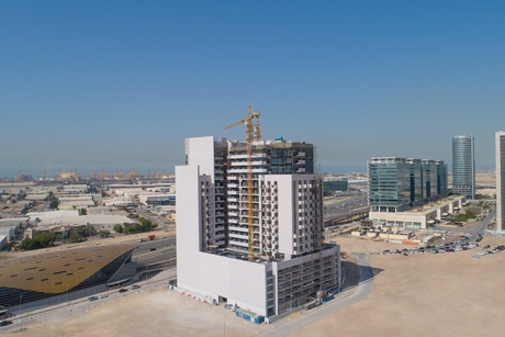 Azizi marks construction milestone at 479-unit Aura with 85% completion
