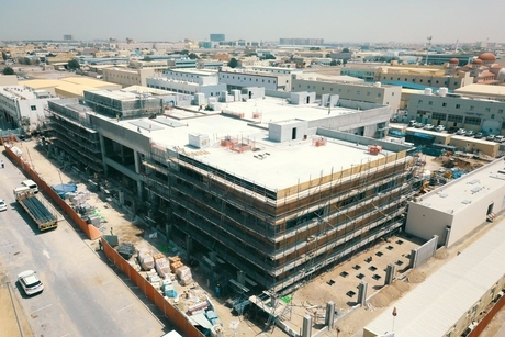 Work continues on Musanada's $40.9M court buildings project