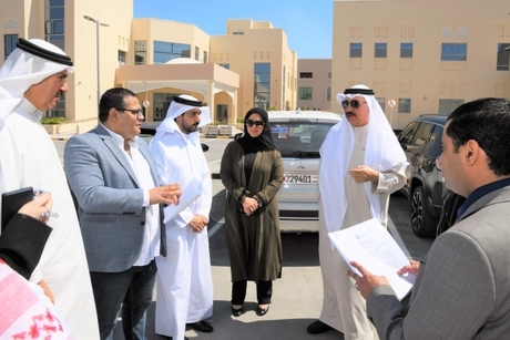 Work progresses in full swing on social facilities project in Bahrain