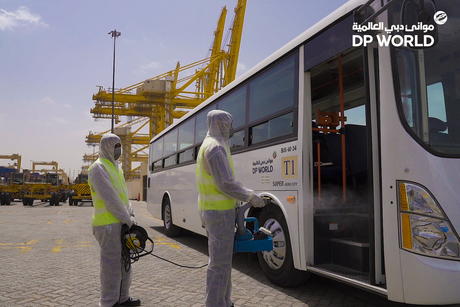 Combating COVID-19: DP World ensures staff safety, flow of services