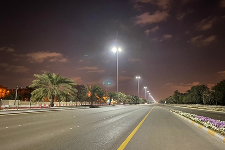 Abu Dhabi Municipality replaces 4,184 streetlights with LED lights