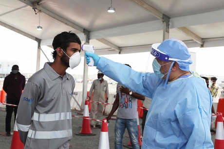 COVID-19 testing facilities open for workers in Abu Dhabi's Mussafah