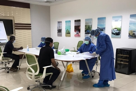 RAKEZ carries out 10,000 medical check-ups for workers