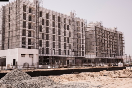 PICTURES: Construction progress of Phase 1 of Aljada's buildings