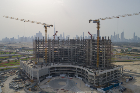 Azizi Development's Dubai Creek Views tower 37% complete