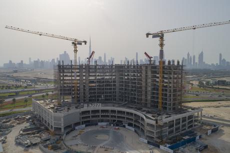 Azizi Development's Dubai Creek Views tower 37% complete