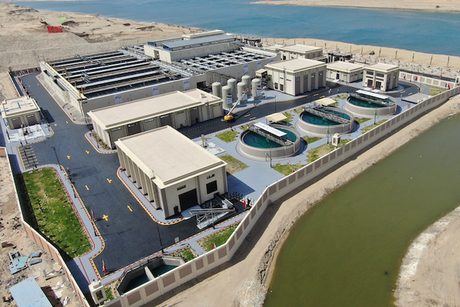 Metito, Hassan Allam builds world's largest drainage plant
