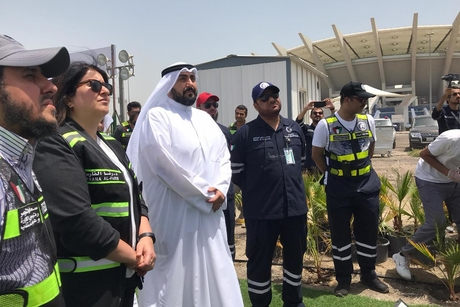 Kuwait Works Ministry builds 5,000-bed COVID-19 quarantine facility