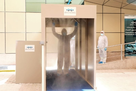 COVID-19: Dubai Silicon Oasis Authority develops disinfection tunnel
