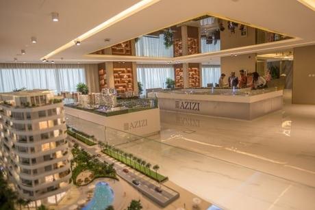 Azizi Developments has constructed 123,280m2 of BUA in Q1 2020