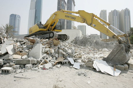 ADM demolishes eight abandoned buildings in Abu Dhabi in Q1 2020