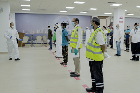 Abu Dhabi Ports constructs COVID-19 testing facilities within 24 hours