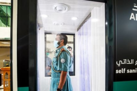 Arada provides sanitation gates to Sharjah's emergency services
