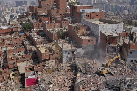 PICTURES: Makkah development authority demolishes 114 properties