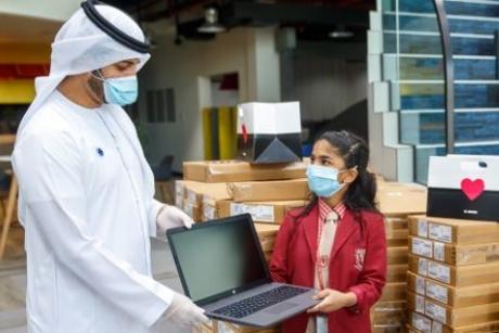 Arada donates 1,000 laptops to facilitate distance learning