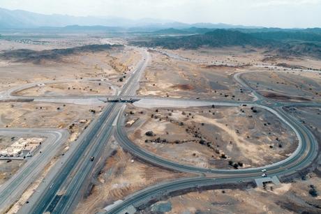 Oman's transport ministry opens 13km of Barka - Nakhal project