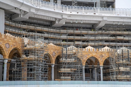 PICTURES: Saudi Arabia resumes expansion works at Grand Mosque