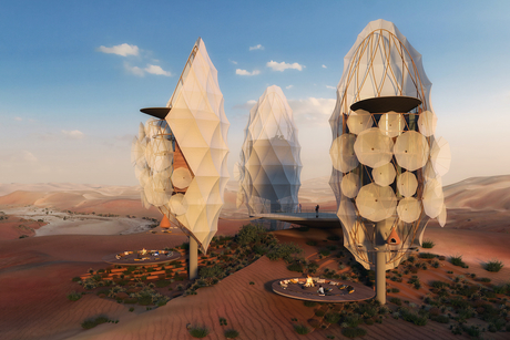 PICTURES: X Architects to design a desert resort in Saudi Arabia