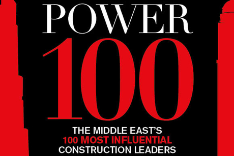 Construction Week's Power 100 list for 2020 is live
