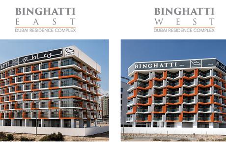 Construction of Binghatti East, Binghatti West projects complete
