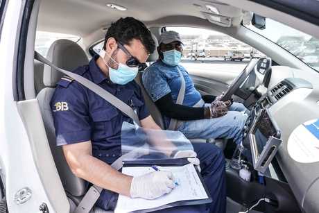RTA inspects centres to ensure compliance with COVID-19 measures