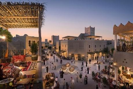 Construction begins on Saudi Arabia's $17.1bn Diriyah Gate