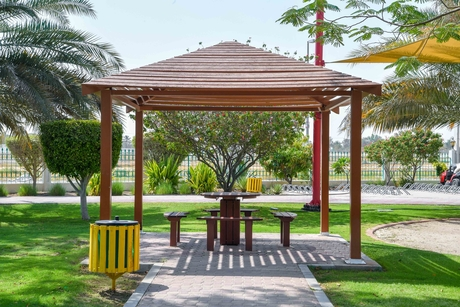 ADM installs infrastructure facilities at parks, gardens in Shahama