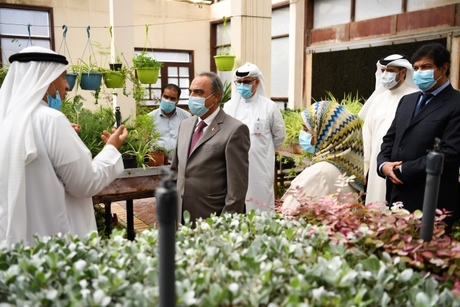 Bahrain Works Ministry to beautify streets with seasonal flowers