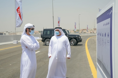 Sheikh Hamdan reviews work on $544.5m Dubai - Al Ain road project