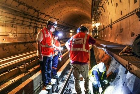 RTA conducts maintenance works on Dubai Metro during lockdown