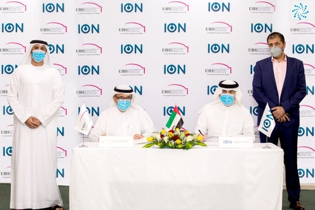 ION Partners with University Hospital Sharjah to provide sustainable solutions