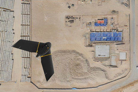 How can drones help Saudi Arabia's construction sector post COVID-19?
