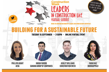 Leaders UAE 2020: Building for a Sustainable Future panel revealed