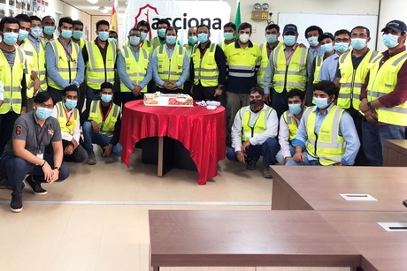 Work 50% complete on Shuqaiq 3, hits 2 million LTI-free hours