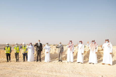 VIDEO: Saudi Arabia's Minister of Tourism visits Diriyah Gate project