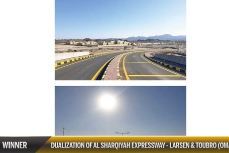 CW Oman Awards 20: L&T scoop Infrastructure Project of the Year