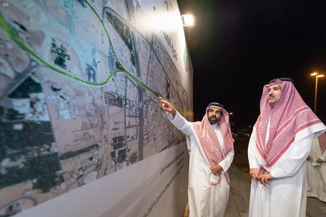 Work on Saudi's Uhud Avenue project in Madinah 25% complete