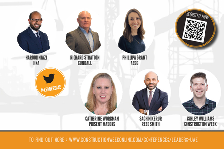 Registration call for Leaders in Construction UAE event
