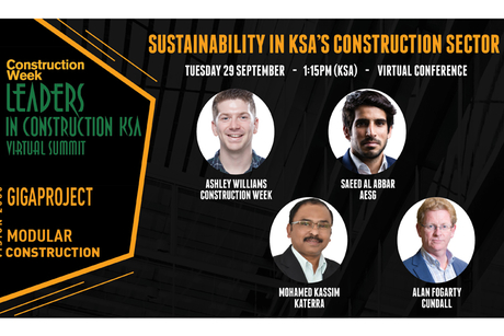 AESG, Cundall, Katerra to debate sustainability at Leaders KSA 2020